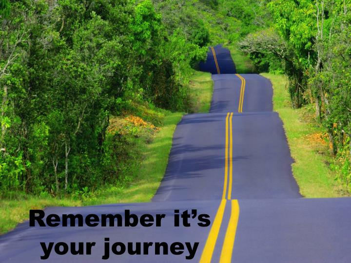 Its your journey