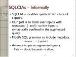 sqlcias informally1