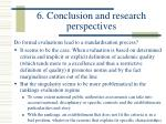 6 conclusion and research perspectives