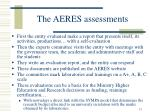 the aeres assessments