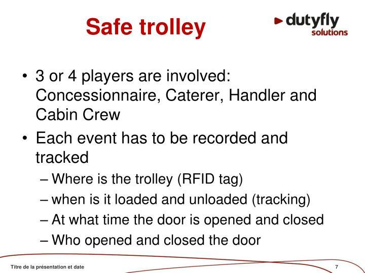 Safe trolley