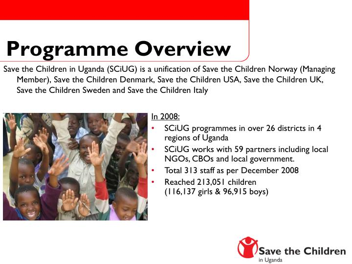 Programme Overview