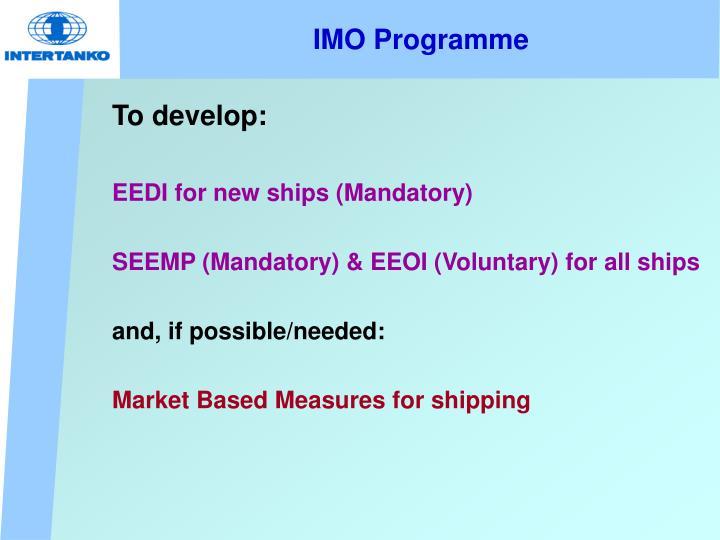 IMO Programme