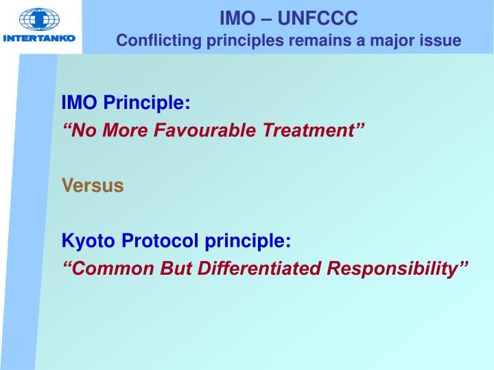 IMO – UNFCCC