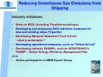 reducing greenhouse gas emissions from shipping2