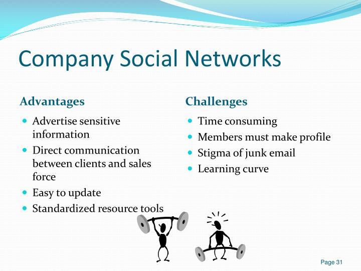 Company Social Networks