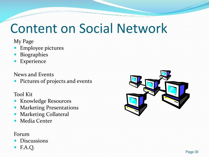 Content on Social Network
