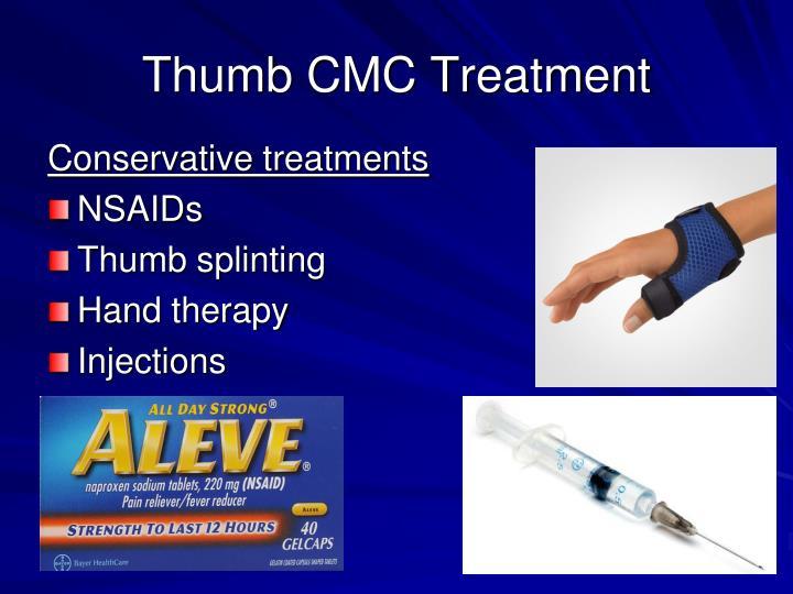 Thumb CMC Treatment