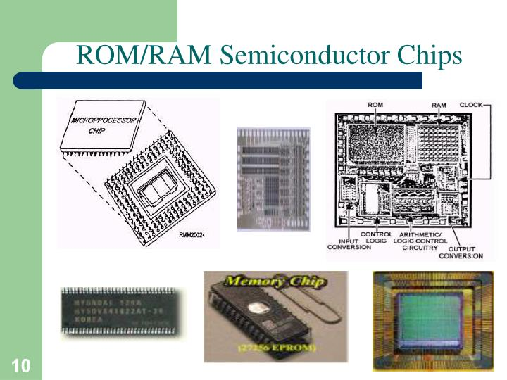 ROM/RAM Semiconductor Chips