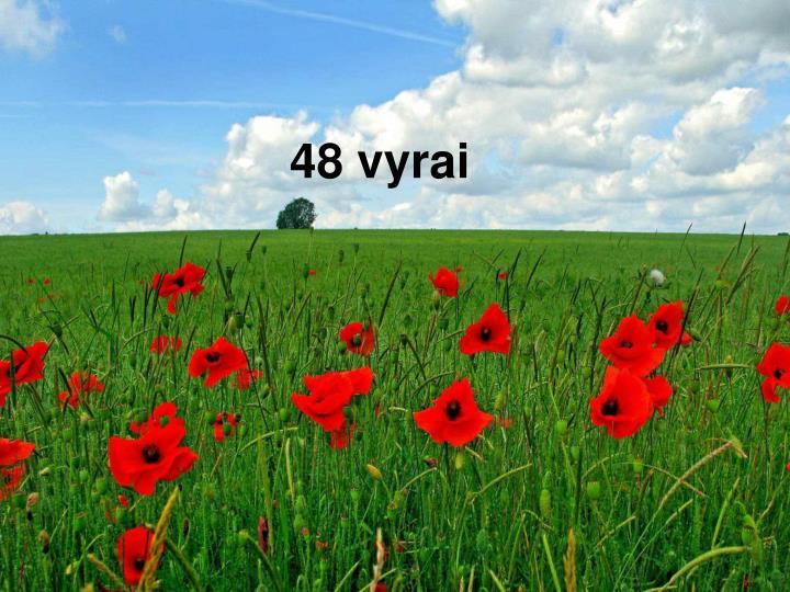 48 vyrai