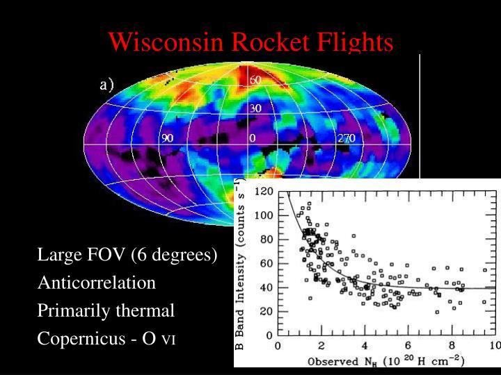 Wisconsin Rocket Flights