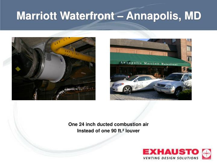 Marriott Waterfront – Annapolis, MD