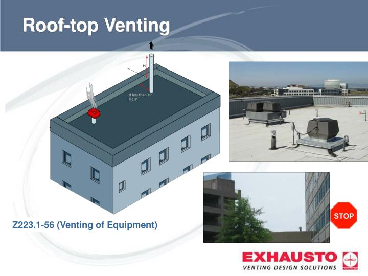 Roof-top Venting