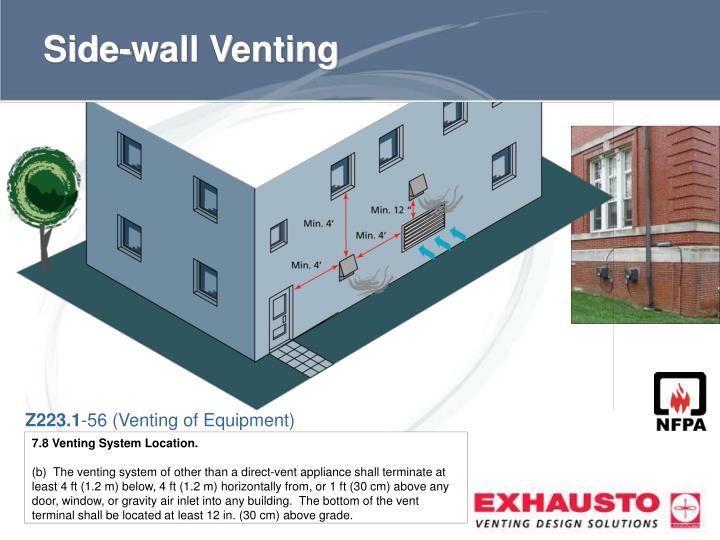Side-wall Venting