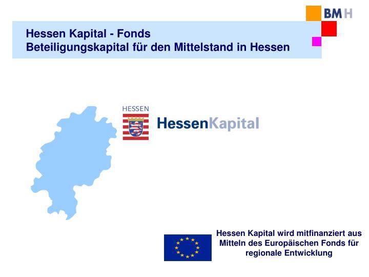 Hessen Kapital - Fonds