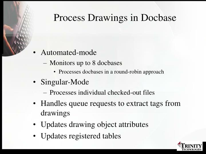Process Drawings in Docbase