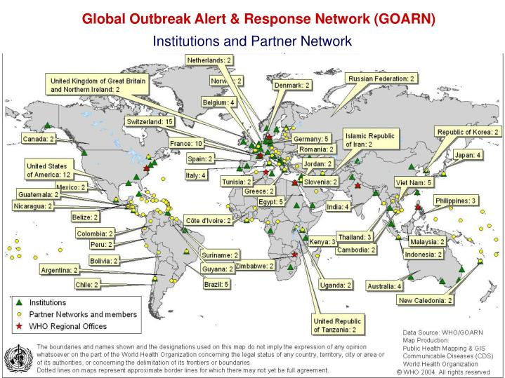 Global Outbreak Alert & Response Network (GOARN)