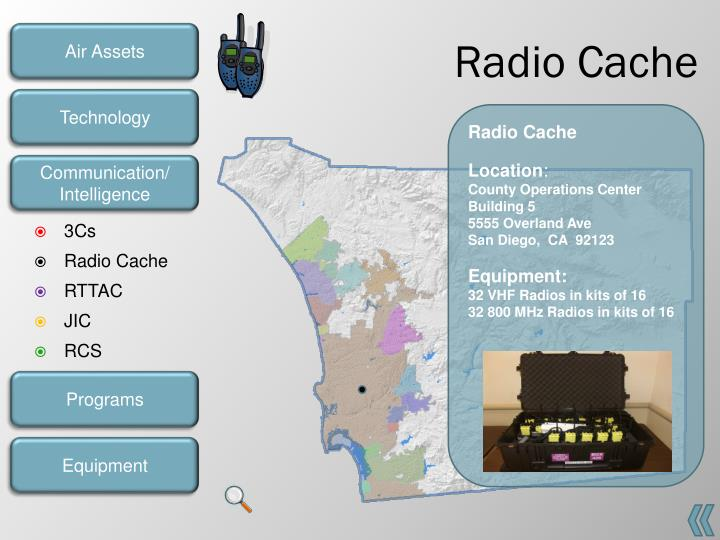 Radio Cache