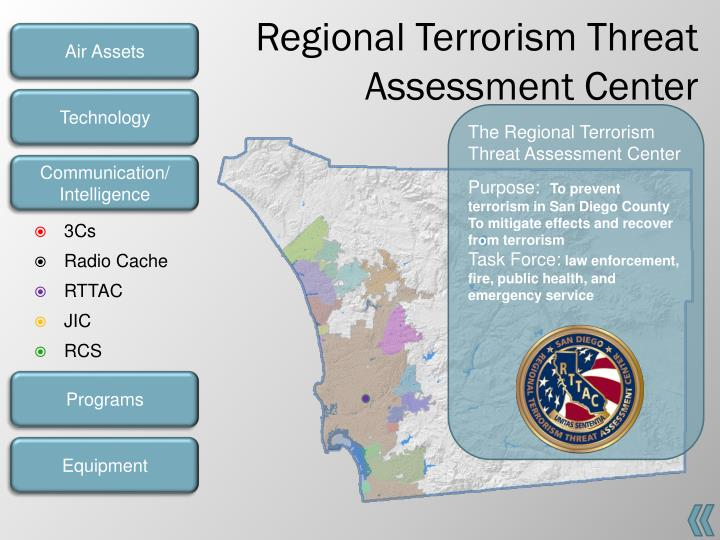 Regional Terrorism Threat Assessment Center