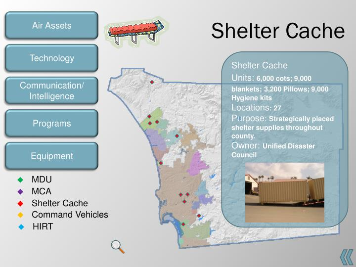Shelter Cache