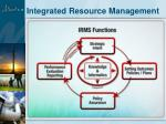 integrated resource management2