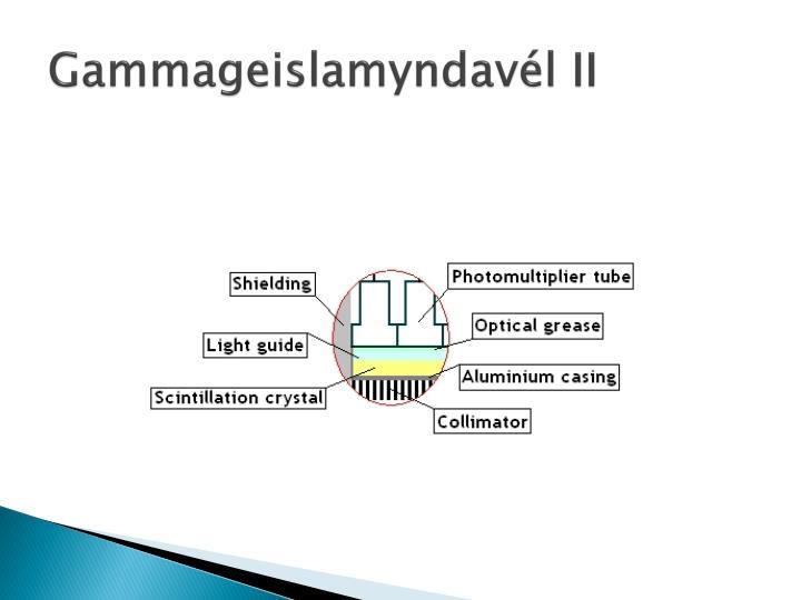 Gammageislamyndavél II