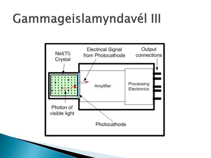 Gammageislamyndavél III