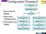 configuration process ii