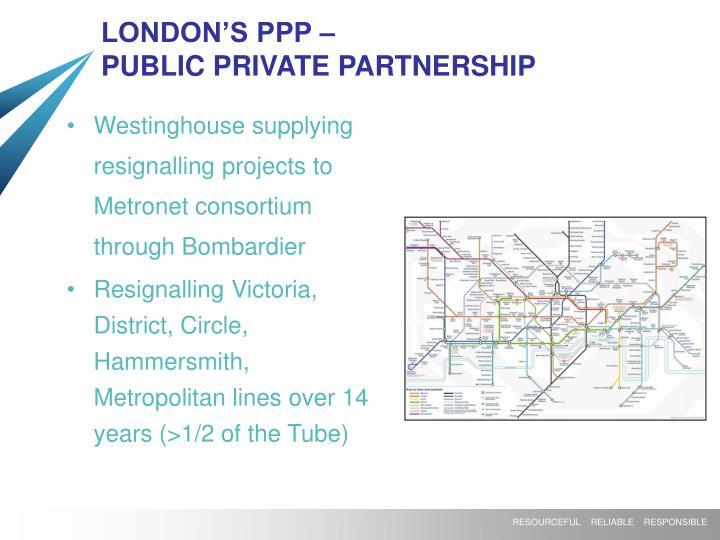 LONDON'S PPP –