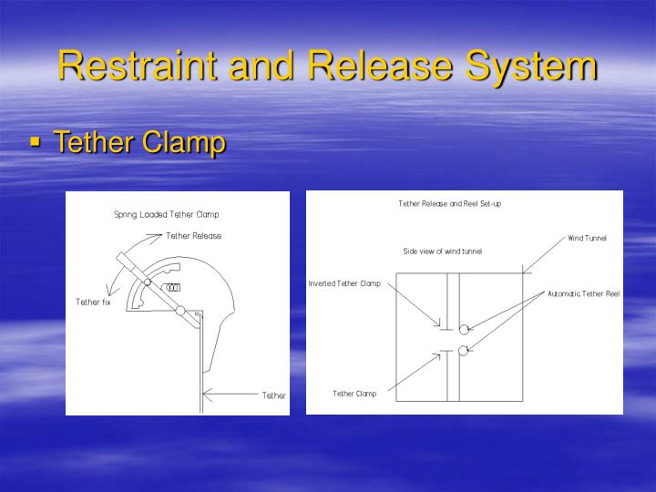 Restraint and Release System