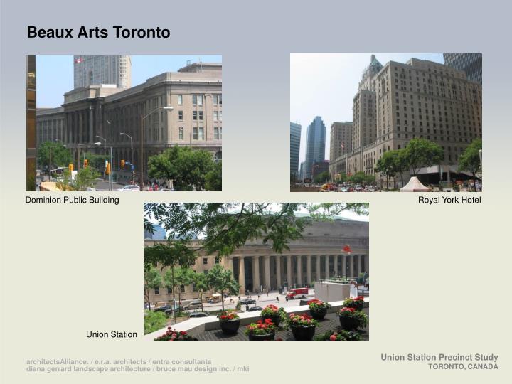 Beaux Arts Toronto