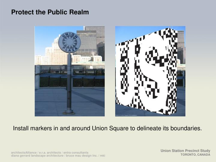 Protect the Public Realm