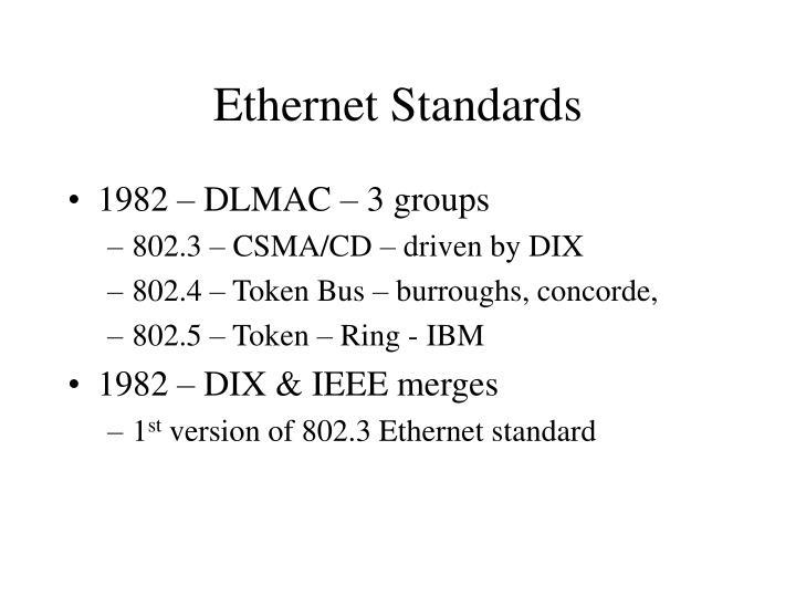 Ethernet Standards