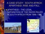 a case study south africa apartheid rise and fall
