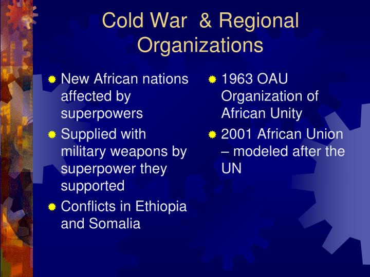 New African nations affected by superpowers