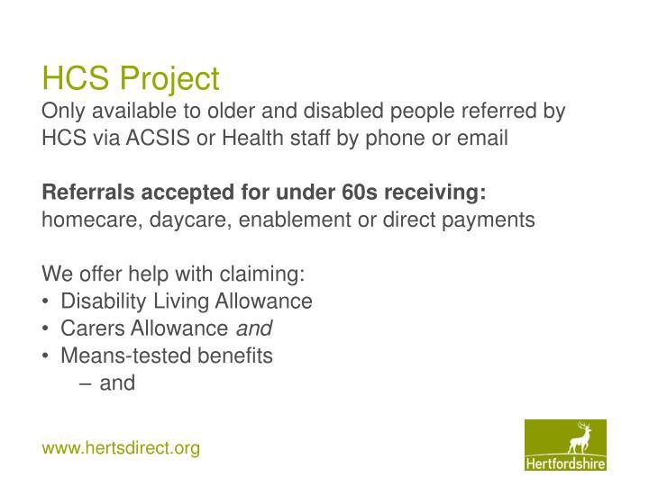 HCS Project