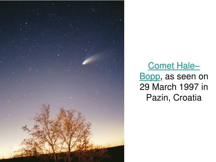 Comet Hale–Bopp