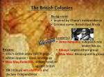 the british colonies1