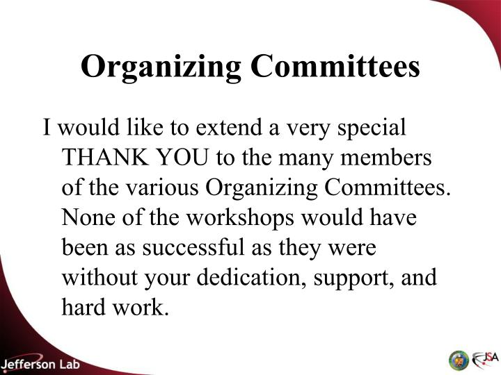 Organizing Committees