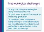 methodological challenges