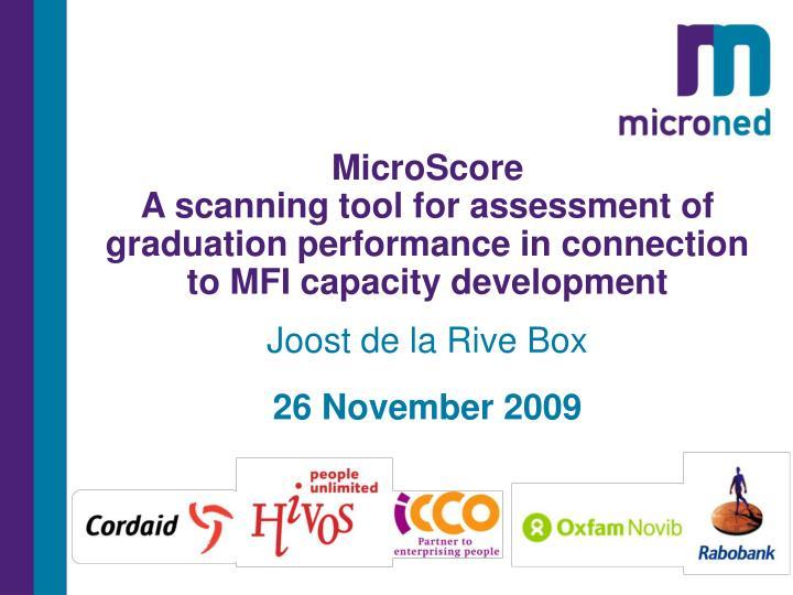 MicroScore