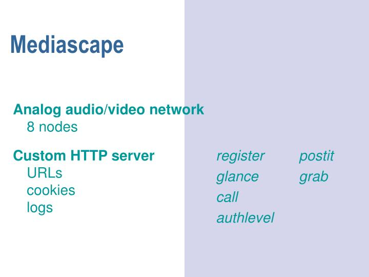 Mediascape
