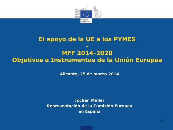 El apoyo de la UE a los PYMES