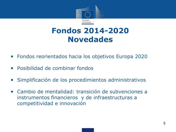 Fondos 2014-2020