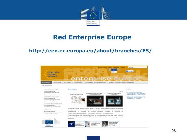 Red Enterprise Europe