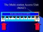 the multi station access unit mau1