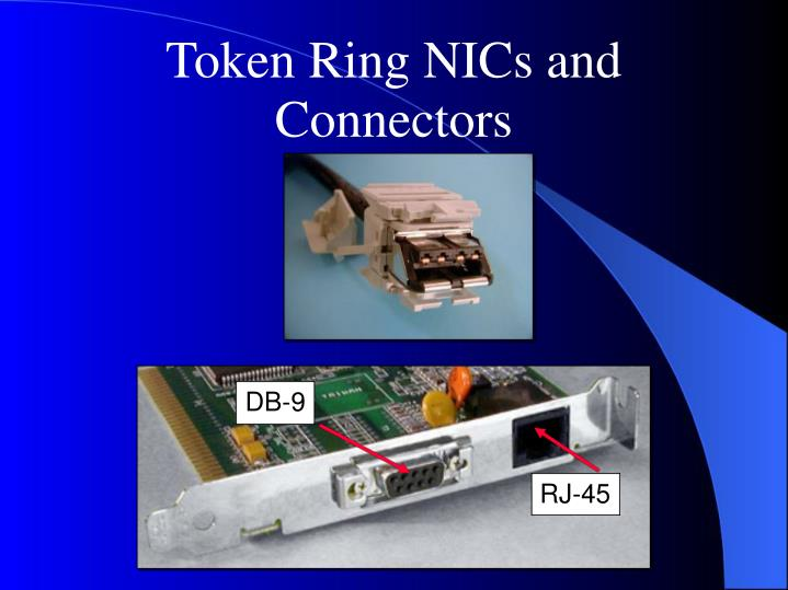 Token Ring NICs and Connectors