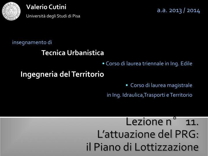 Valerio Cutini