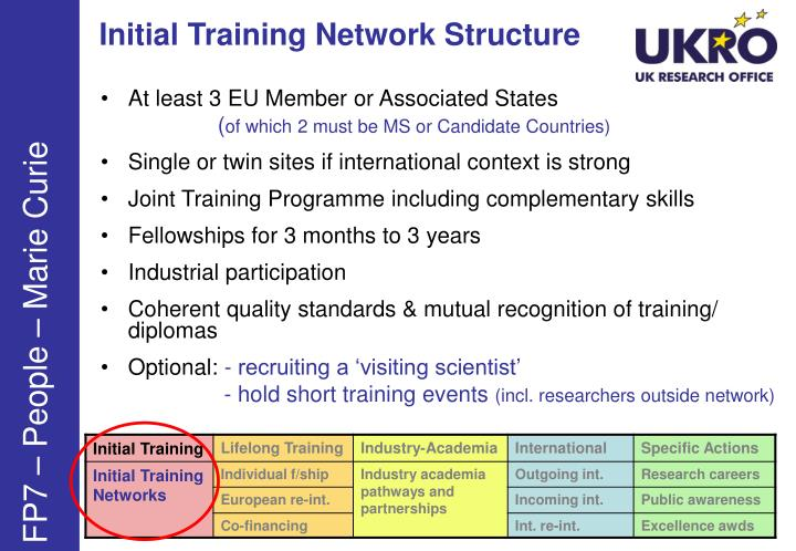 Initial Training Network Structure