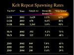 kelt repeat spawning rates1